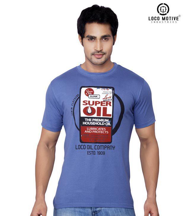 Locomotive Super Blue T Shirt