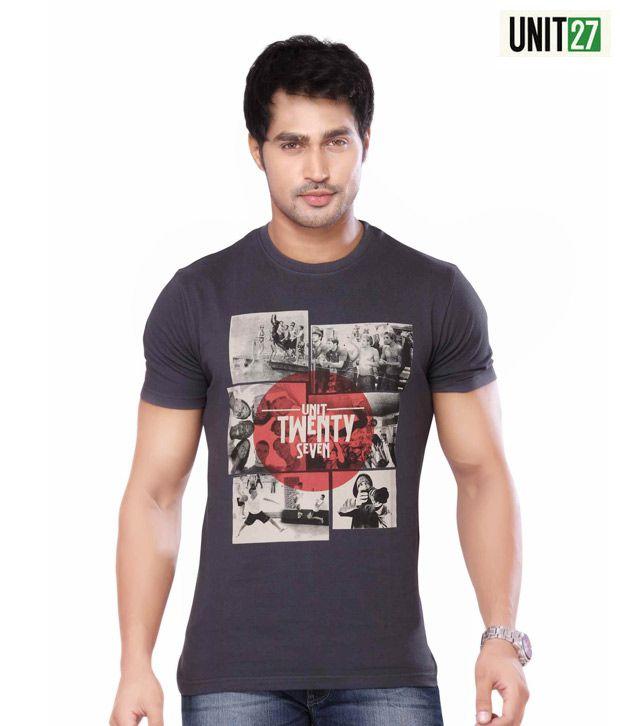 Unit 27 Classic Dark Grey T-Shirt