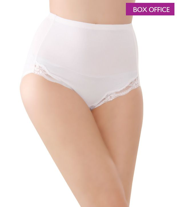 Box Office Smart White Panty Corset