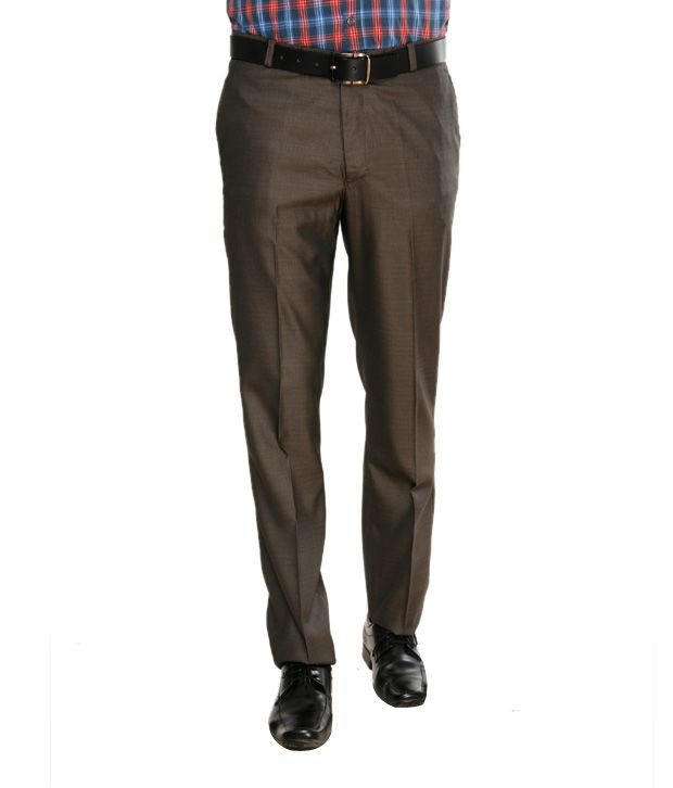 Viggo Exclusive Brown Trousers