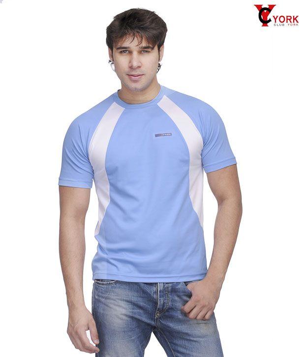 Club York Classic Sky Blue T-Shirt