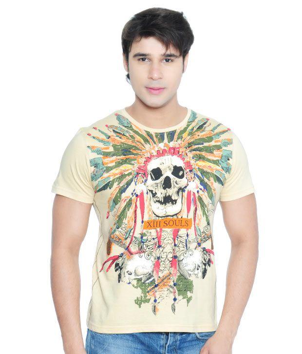 Vvoguish Mystic Beige T-Shirt