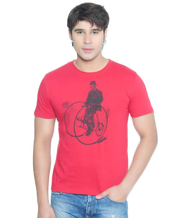 Vvoguish Classic Red T-Shirt