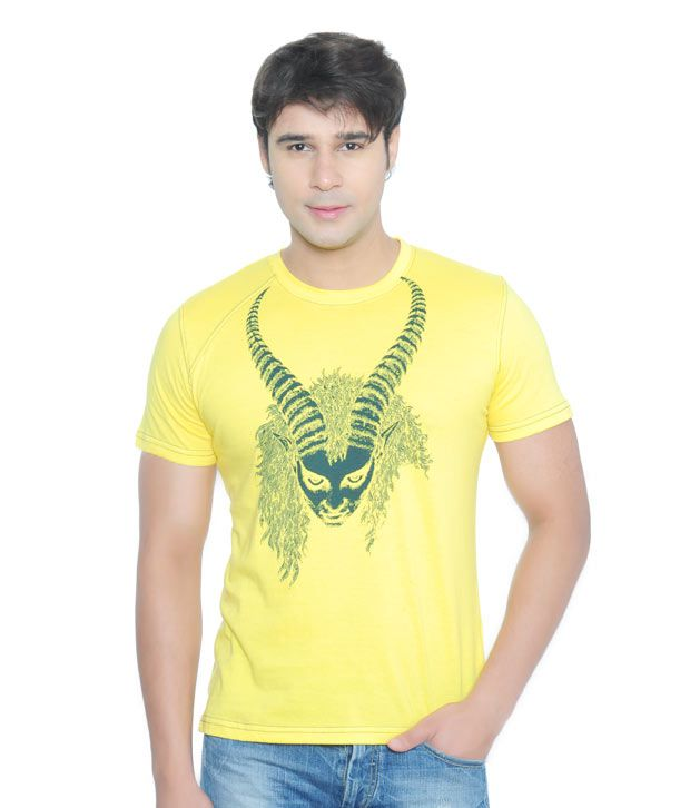 Vvoguish Classic Yellow T-Shirt