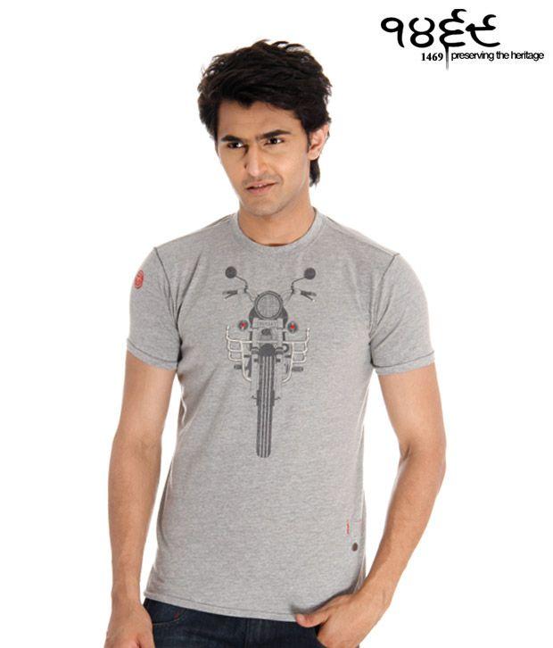1469 Grey Bullet T-Shirt