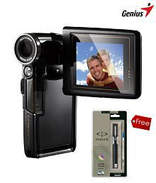 GENIUS-G-Shot Dv505-Digital Video Camera (with Parker Vector Roller Pen worth Rs. 250)