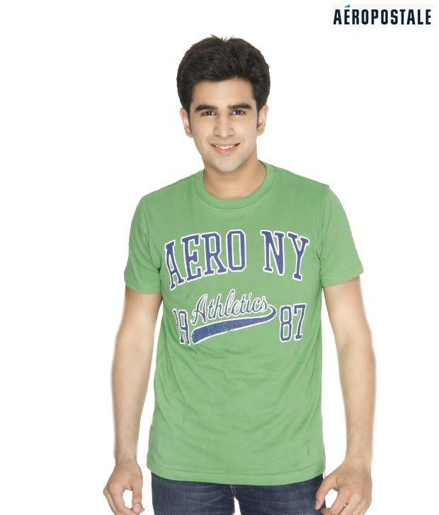 Aeropostale Green T-Shirt