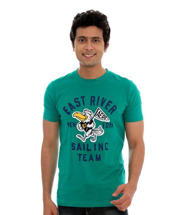 Aeropostale Sea Green East River T-Shirt