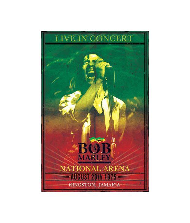 Bob Marley (Concert) (24 x 36 Inches)