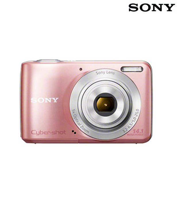 Sony Cybershot S5000 14.1MP Digital Camera (Pink)