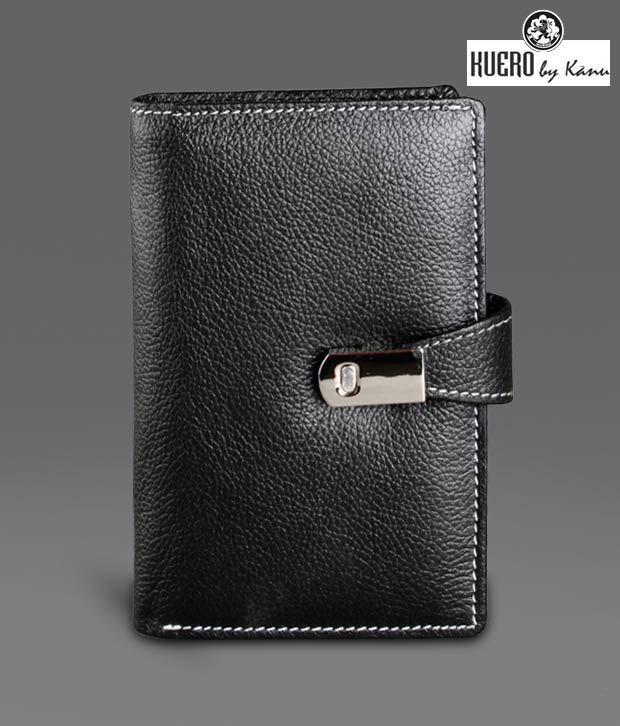 Kuero  Black Mobile Wallet