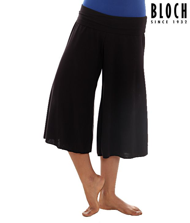Bloch Black Culottes