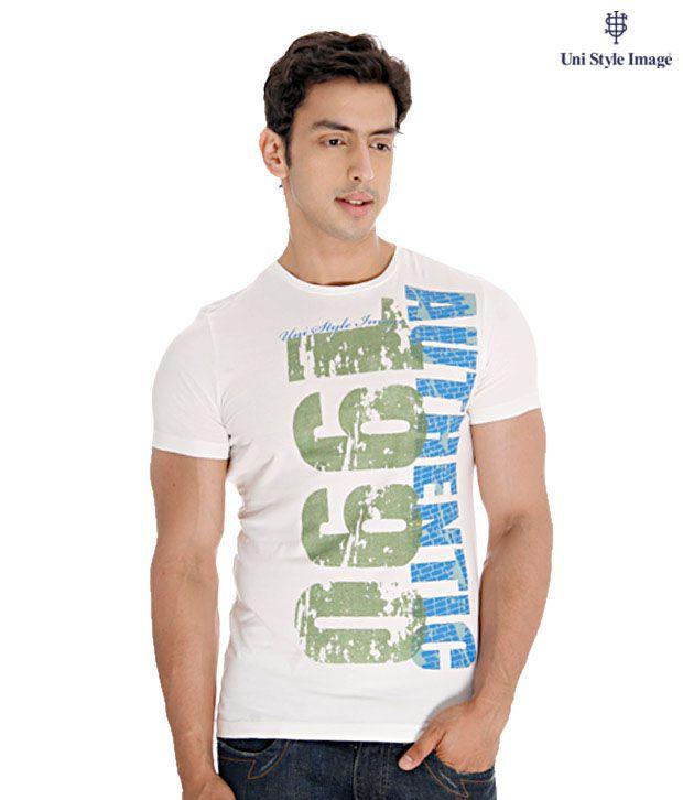 USI White T-Shirt