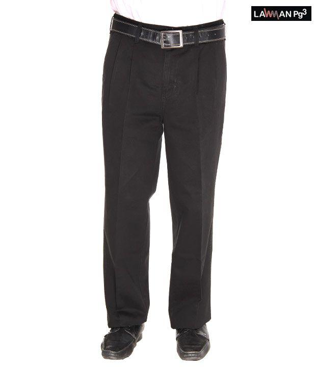 Lawman Black Trousers