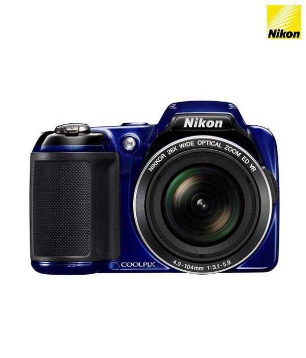 Nikon Coolpix L810 16.1MP Semi SLR (Blue)