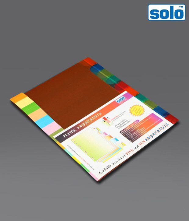 Solo Multi - Coloured Divider (SP 110) - 5 pcs pkt
