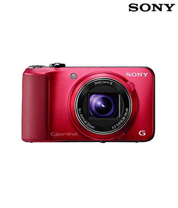 Sony Cybershot HX10V 18.2MP Semi SLR (Red)