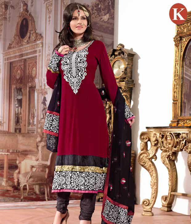 Khazana Astonishing Maroon  Designer Salwar Suits