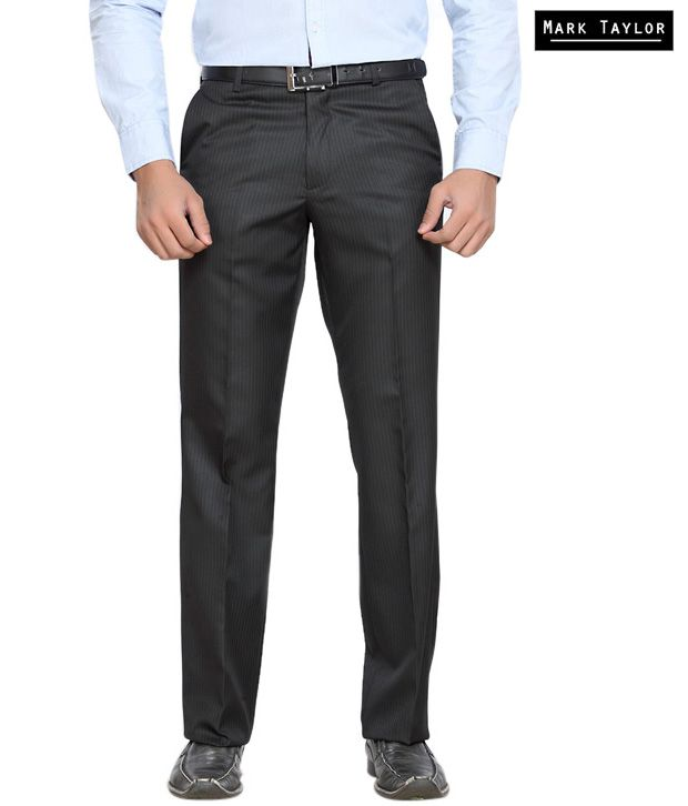 Mark Taylor Formal Black Trouser