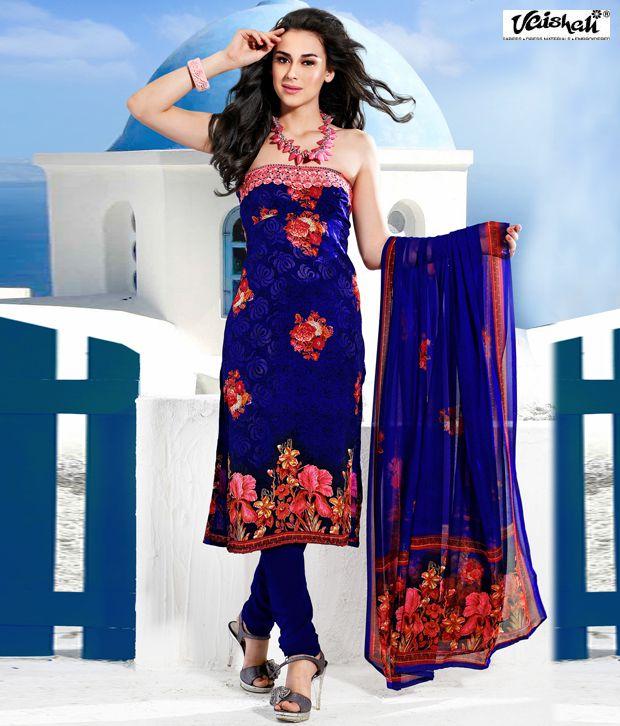 Vaishali Fabrics Glamorous Printed Dress Material
