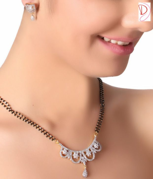 Diva Graceful Bridal AD Mangalsutra Set