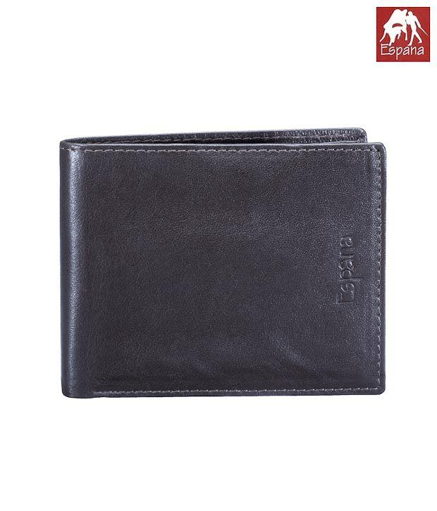 Espana Coffee Brown Zipper Wallet