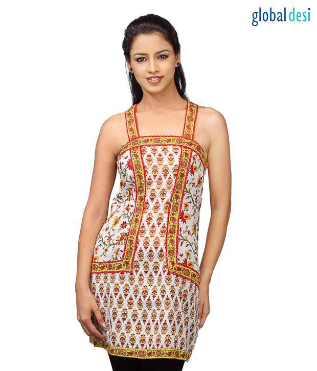 Global Desi Designer Tunic Top