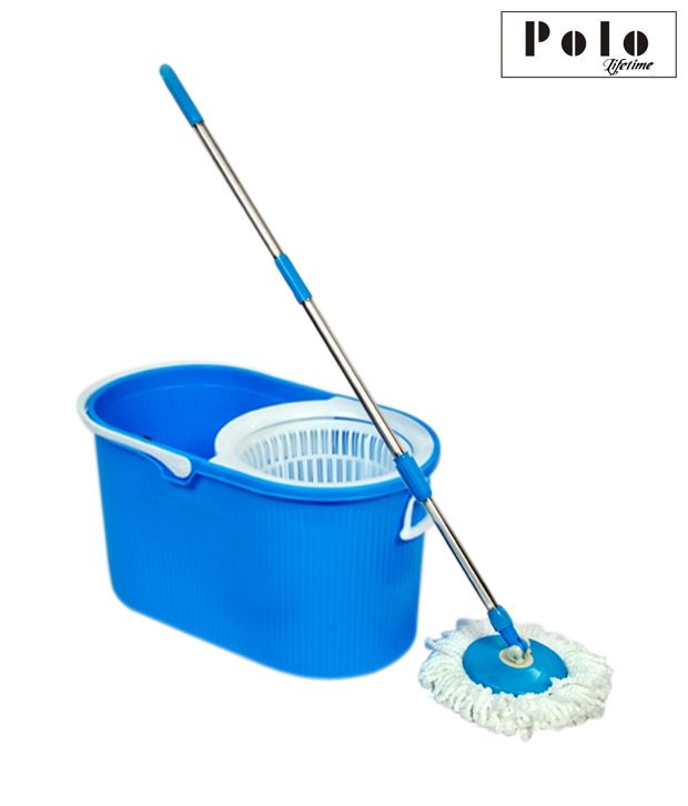 Polo Blue & White Floor Mop
