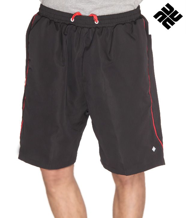 NU9 Dashing Black Shorts