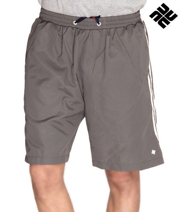 NU9 Cool Grey Shorts