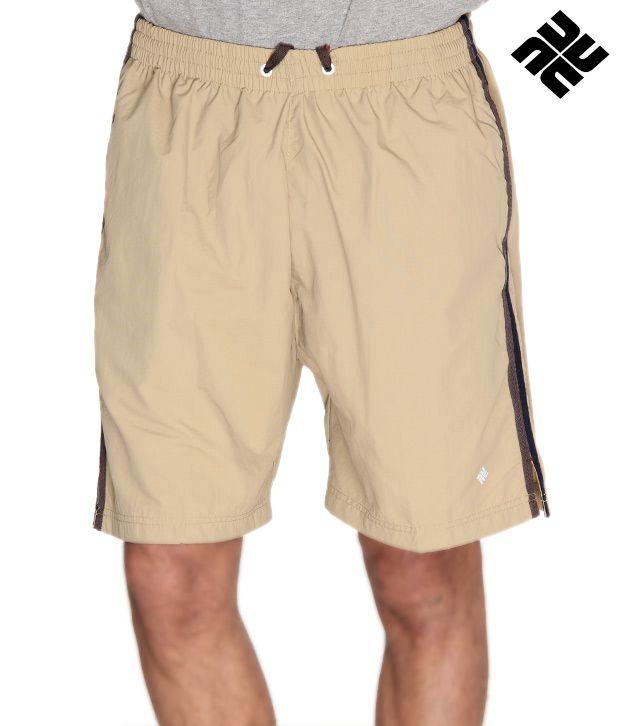 NU9 Trendy Khaki Shorts