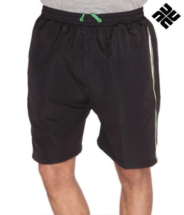 NU9 Smart Black Shorts