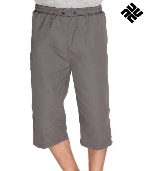 NU9 Stylish Grey Capri