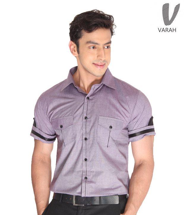 Cotton Shirt Lavender Cotton Shirt
