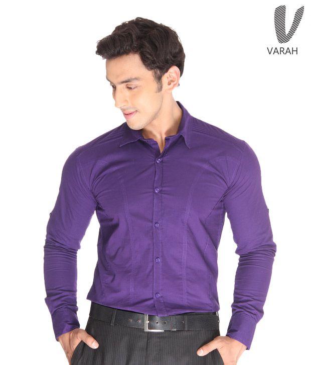 Cotton Shirt Indigo Cotton Shirt