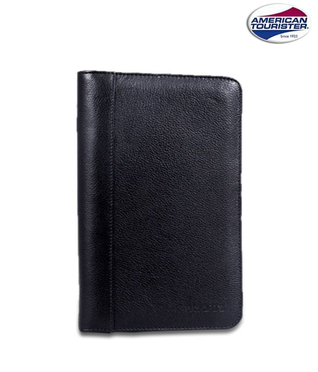 American Tourister Spacious Black Travel Wallet