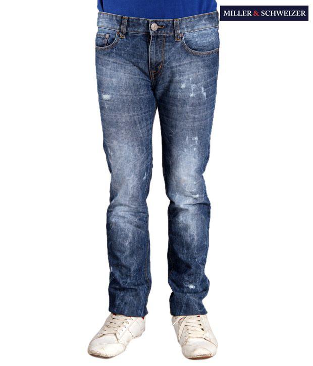 Miller & Schweizer Indigo Denim Jeans