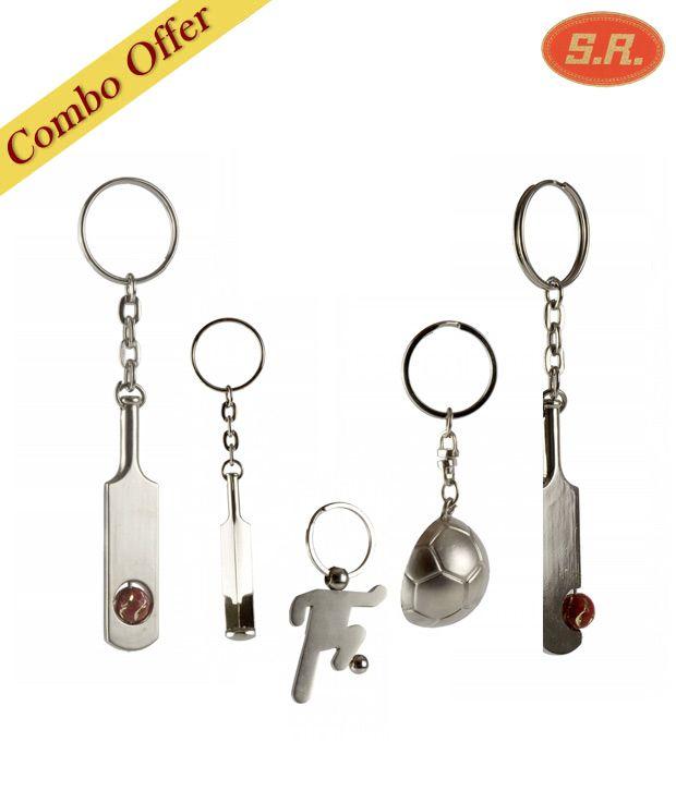 Ravenn 5 Keychain Set