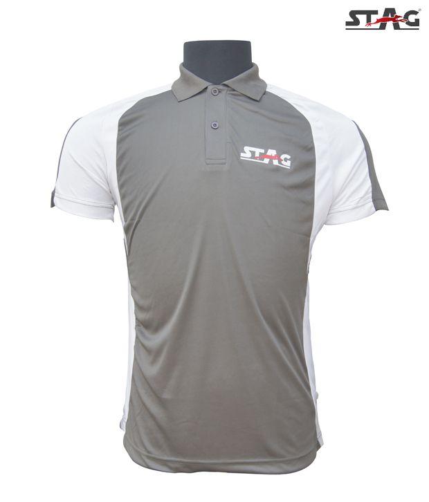 Stag Grey Smash T-Shirt