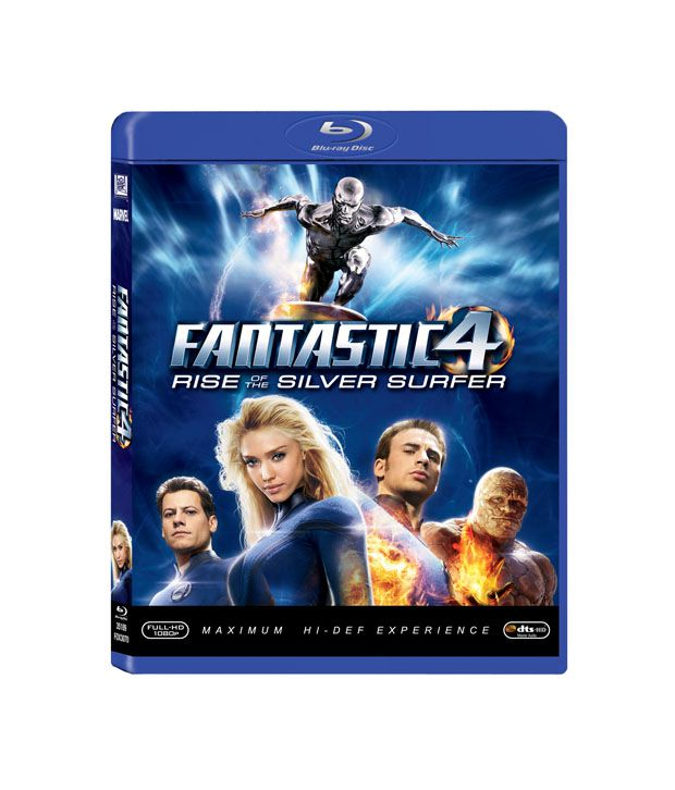 Fantastic 4: Rise of the Silver Surfer (English) Blu-ray