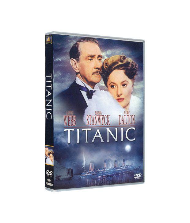 Titanic (1953) (English) Blu-ray