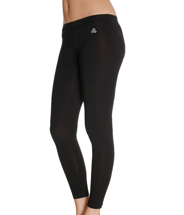 14746ec83f1d7 Buy Jockey Bold Black Leggings Online at Best Prices in India - Snapdeal
