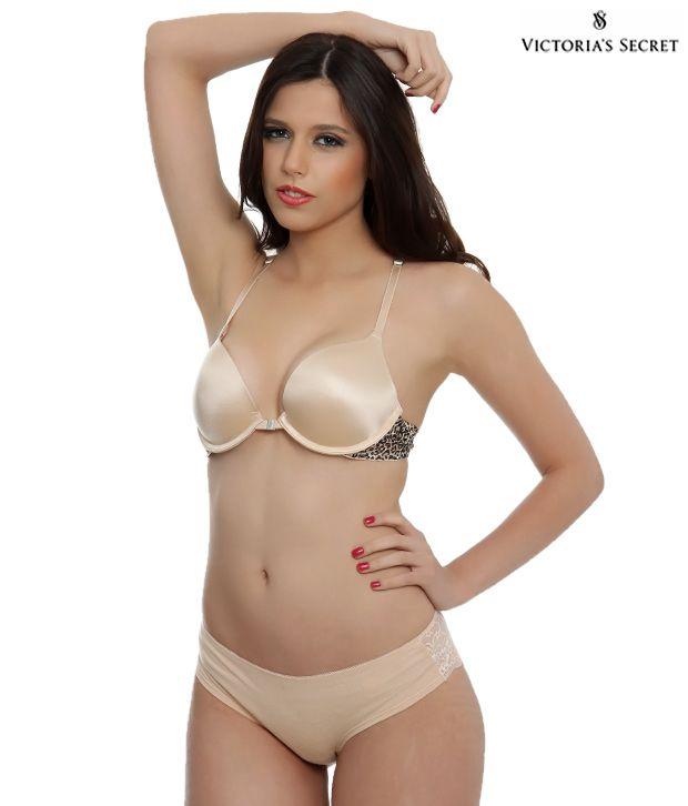 Buy Victoria's Secret Light Brown Bra Online At Best