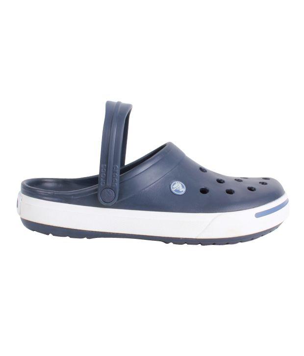 7f3306b962fe Crocs Navy Blue Clog Shoes - Buy Crocs Navy Blue Clog Shoes Online ...