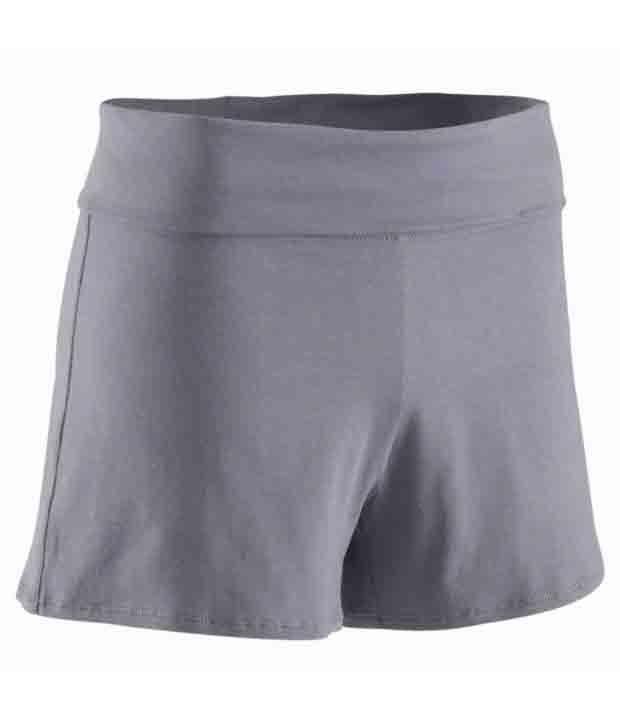 Domyos Organic-Cotton-Shorts Fitness Apparel 8200624