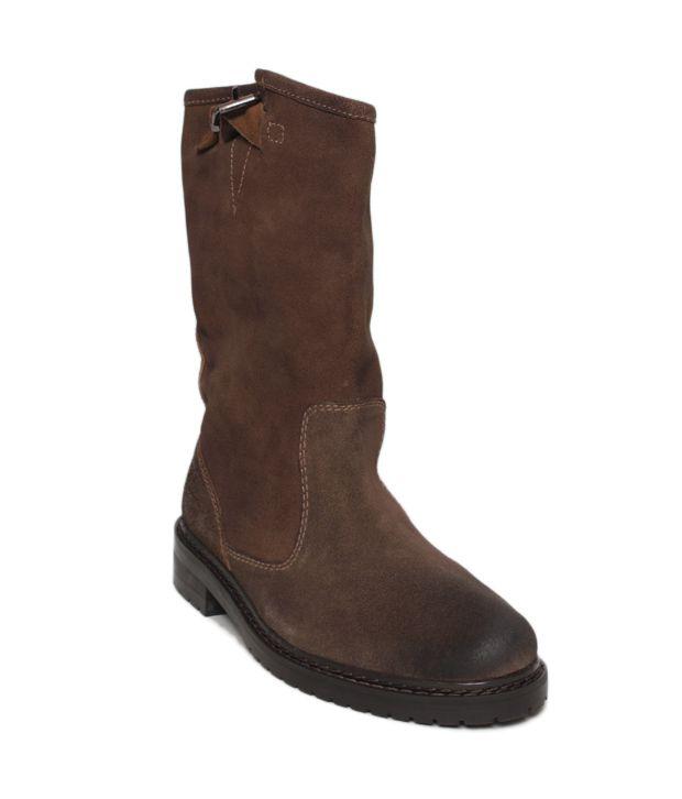 Euro Star Daring Brown Mid Calf Boots