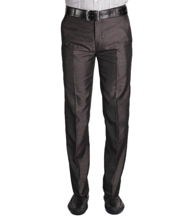 Jogur Elegant Brown Men's   Trouser