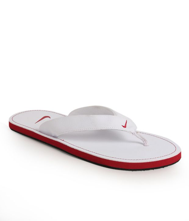 628d9a3ae963 Nike Chroma Thong II White Slippers Price in India- Buy Nike Chroma Thong  II White Slippers Online at Snapdeal