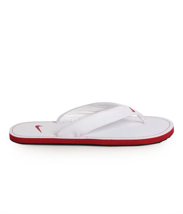 2ec9f1fc8378 Nike Chroma Thong II White Slippers Nike Chroma Thong II White Slippers ...