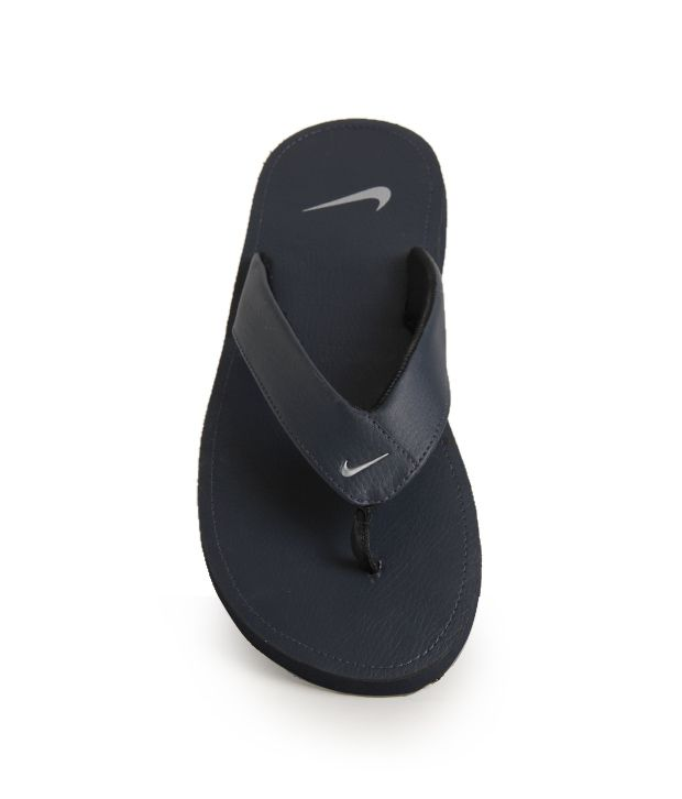 the latest a7bcf b22ec Nike Chroma Thong II Navy Blue Slippers